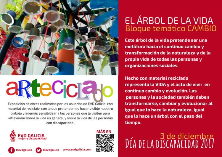 Exposición ARTECICLADO.