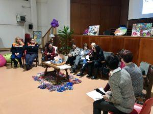 Ponentes en la Mesa Redonda Mujeres Diversas, Mujeres iguales de EVD Galicia