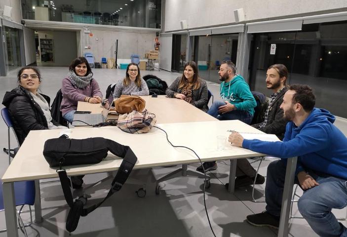 Reunión de la red de ocio inclusivo en la que participa EVD Galicia