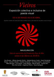 Cartel de la Exposición Vieiros creada por las mujeres de EVD Galicia