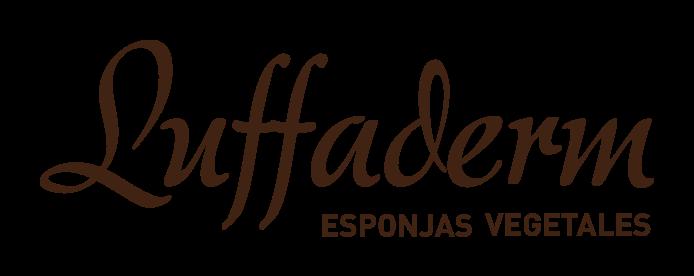 Logotipo de luffaderm. Esponjas vegetales. Proyecto de inclusión laboral para mujeres con discapacidad intelectual de EVD Galicia