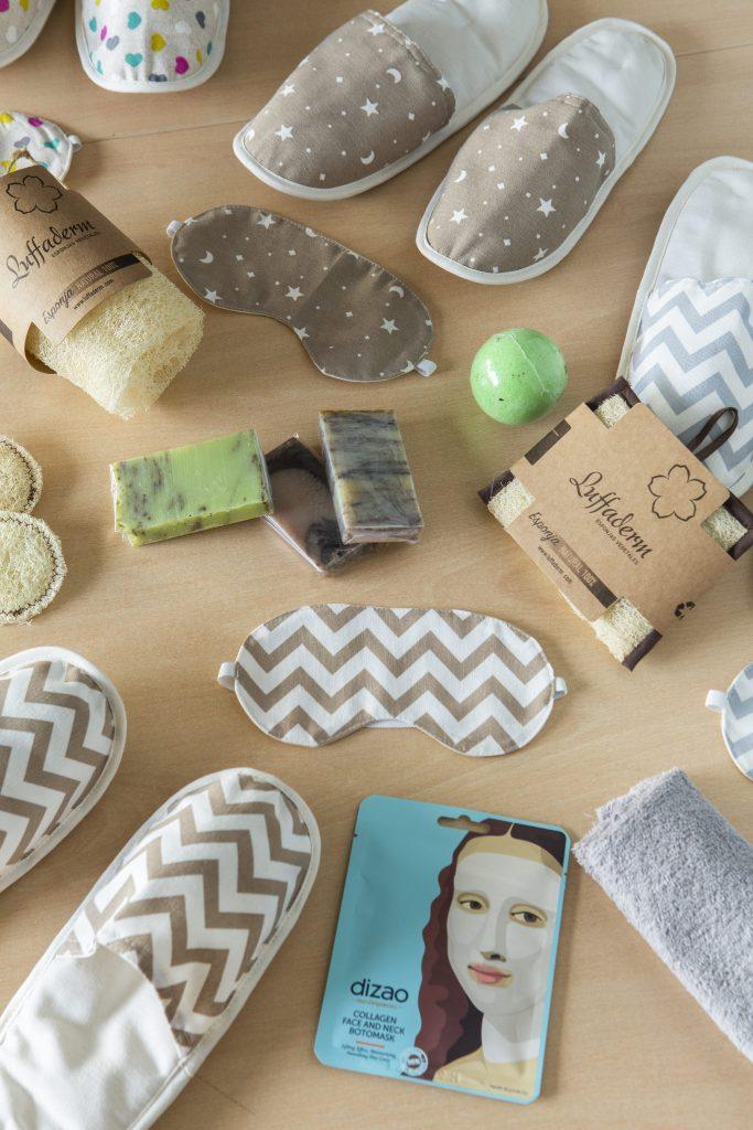 Productos Luffaderm. Esponjas Naturales creados por las mujeres con discapacidad intelectual de EVD Galicia en Mos