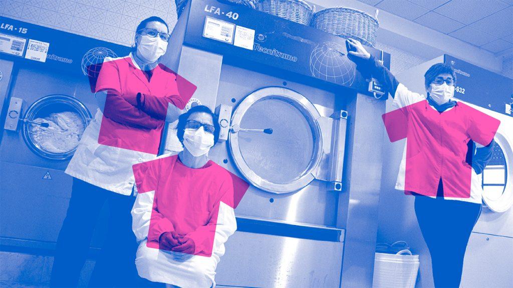 Lavandería LAVATEC de EVD GALICIA: Proyecto gestionado por mujeres con discapacidad intelectual